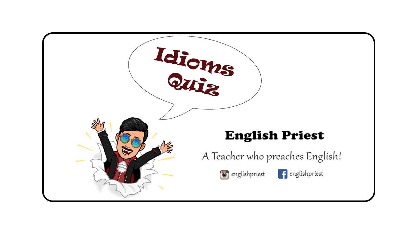 English Priest | A Priest Who Preaches English