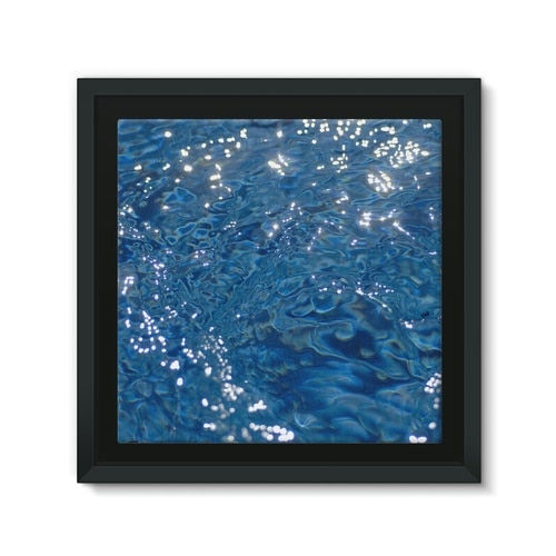 Silk water 4 Framed Canvas Lite - Mineheart - Art gallery and design store