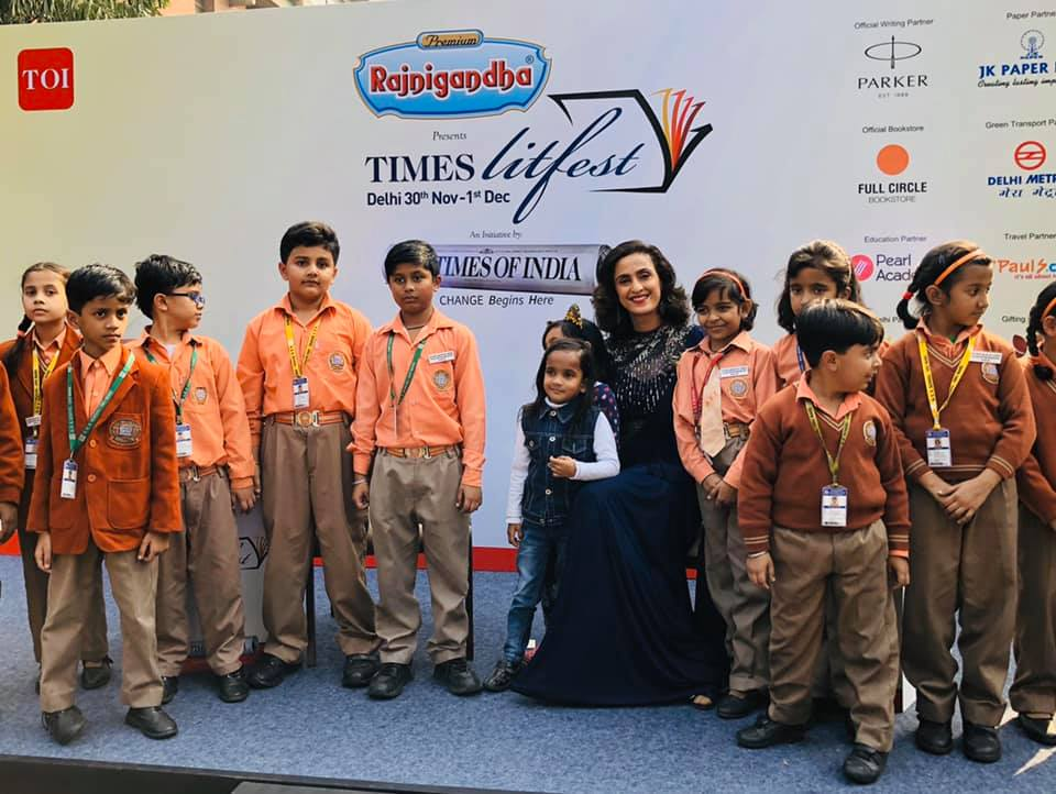 Reading at Times LitFest 2019 - Shivani Wazir Pasrich