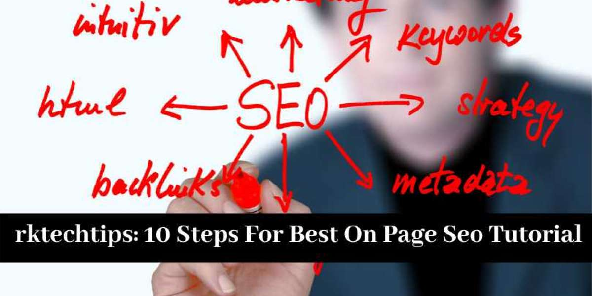 10 Steps For Best On Page Seo Tutorial