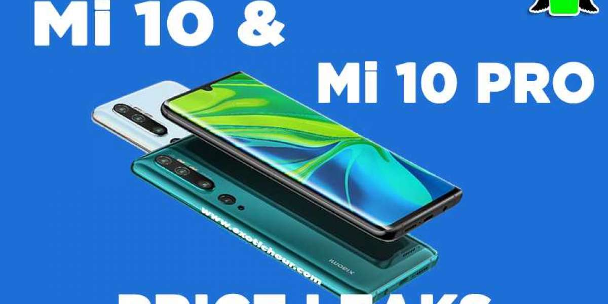 Mi 10 and Mi 10 Pro Specification and price leaks