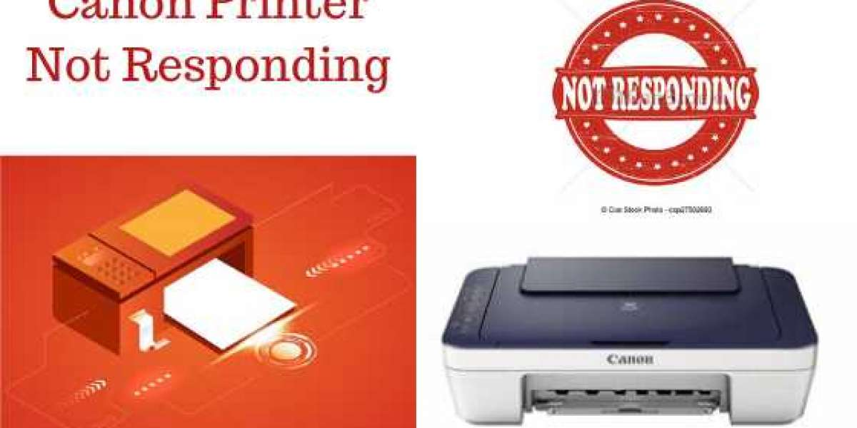 Why is Canon Printer not responding, how to fix this problem?