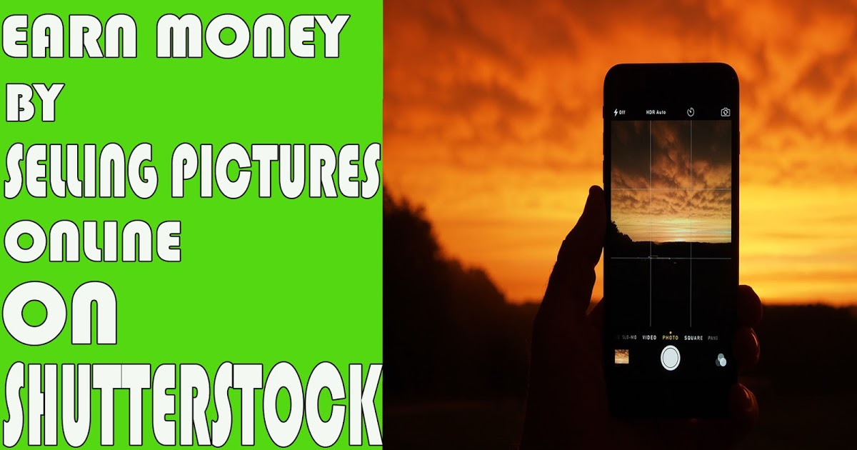 How To Earn Money by Selling Pictures Online || ShutterStock.com  - Tech True English:- All About Tech In English