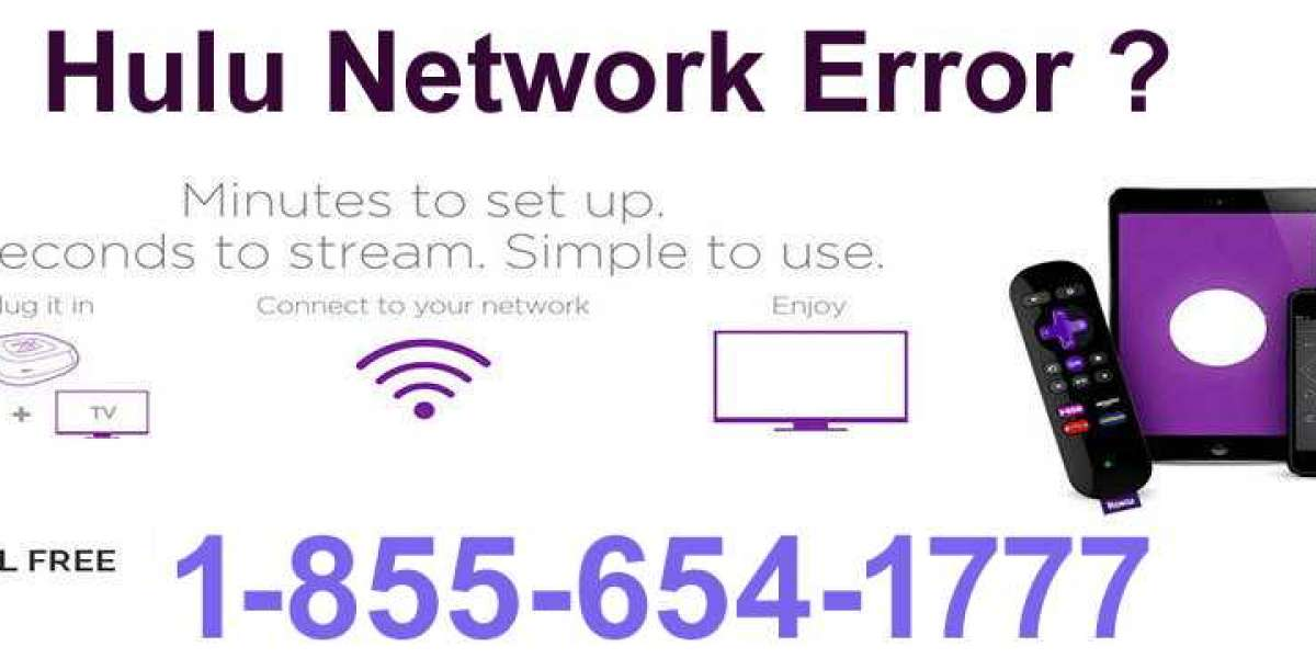 Hulu Network Error ? Call Now 1-855-654-1777