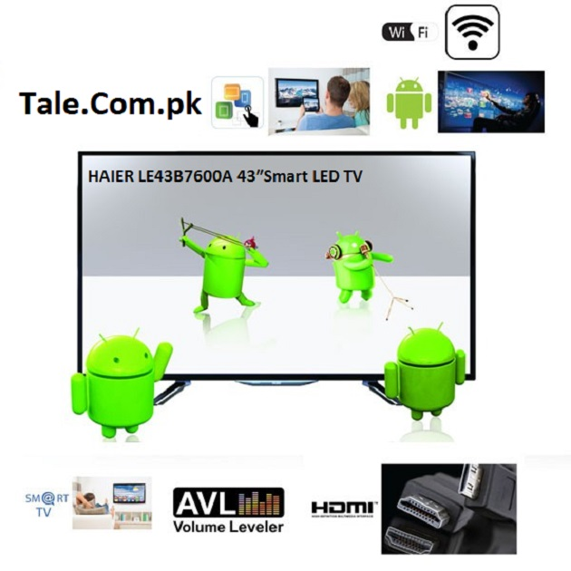 Haier LE43B7600A 43″Smart LED TV Software Free Download: