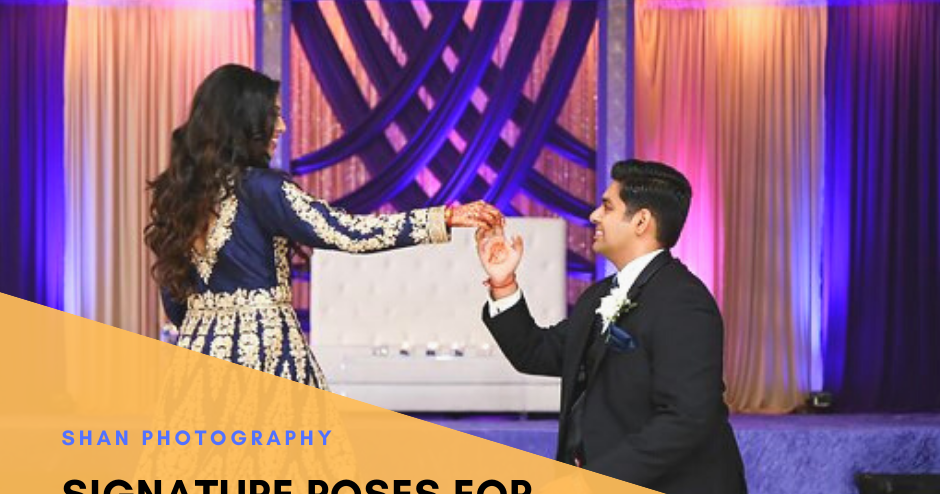 Signature Poses For Wedding That Are Popular Nowadays