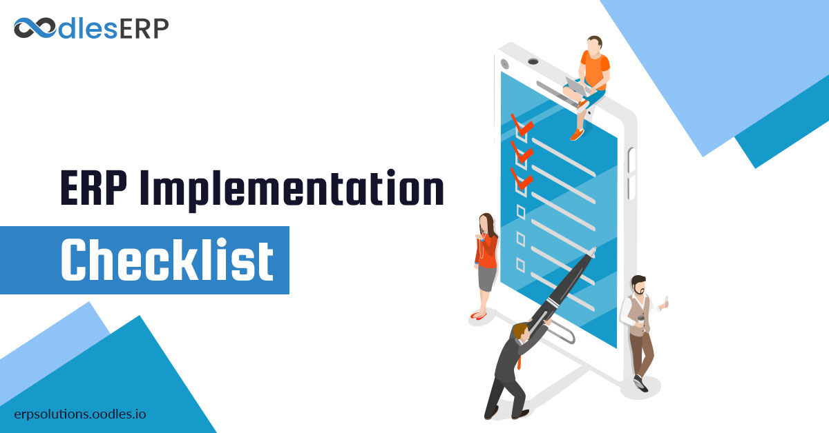 Essential Checklist For ERP Implementation | ERP Software Services