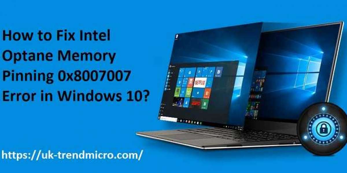 How to Fix Intel Optane Memory Pinning 0x8007007 Error in Windows 10?