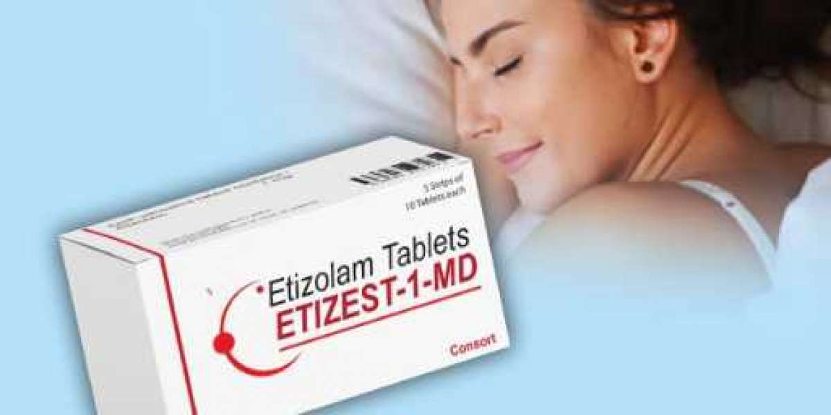 Bid Goodbye to Insomnia and Anxiety Issues Using Etizolam Tablets