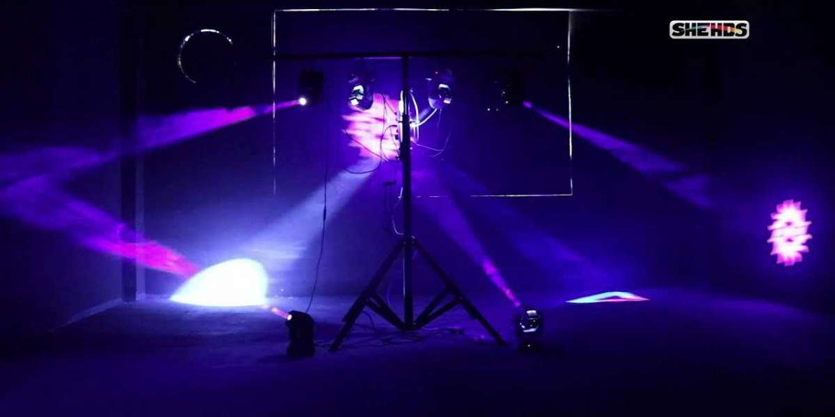 Role of Mini Moving Head Lighting in shows