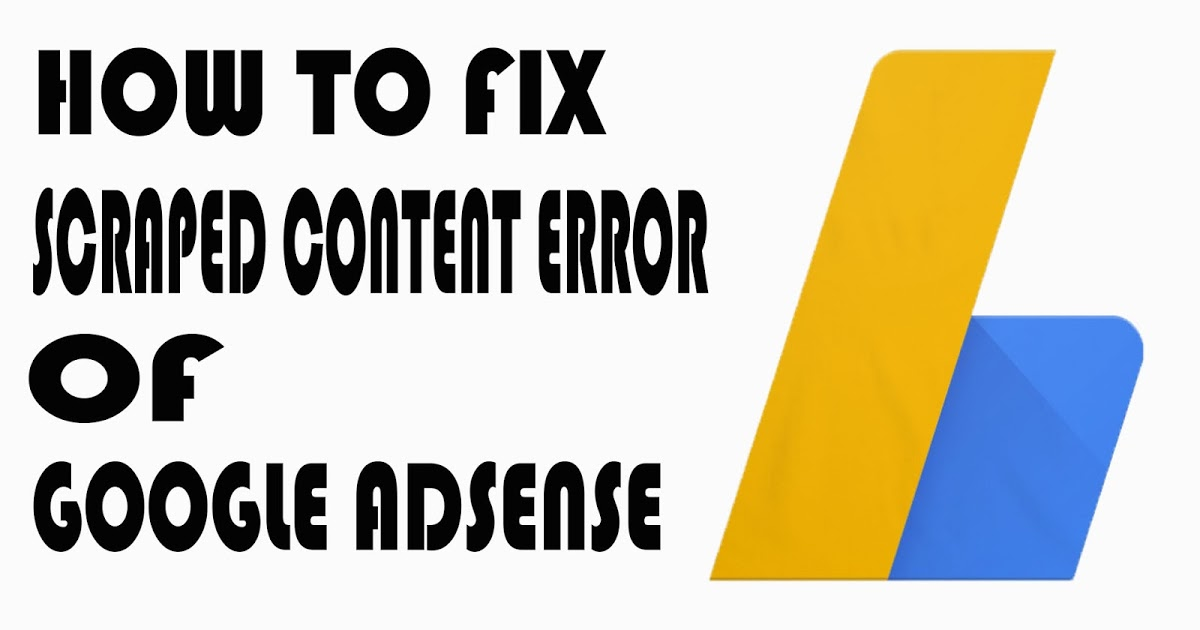 How To Fix Scraped Content Error Of Google Adsense - Tech True English:- All About Tech In English