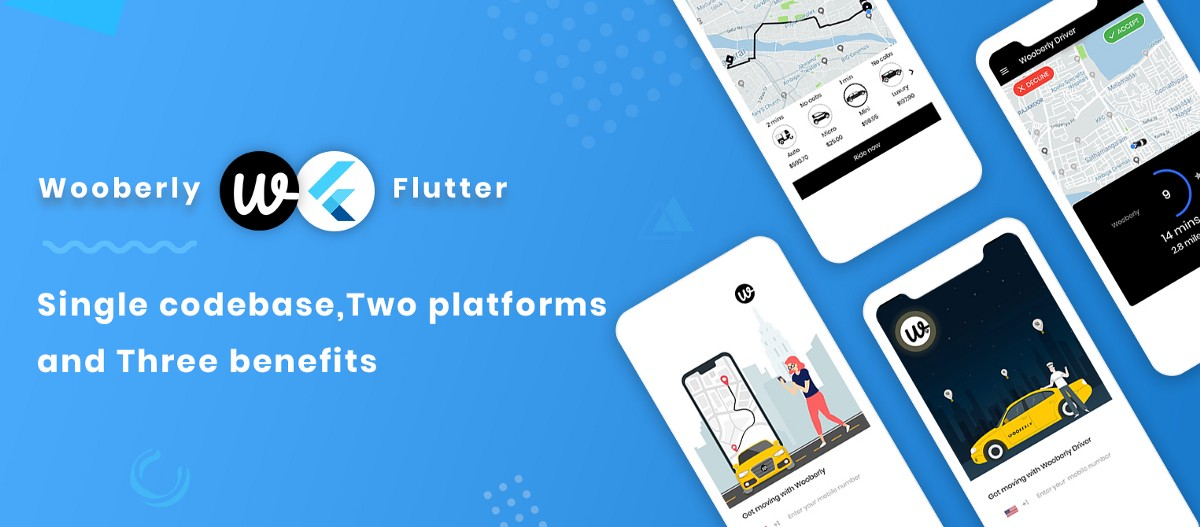 5 Reasons to build your own taxi business with Flutter — Uber clone