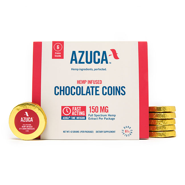 Azuca Chocolate Coins - Azuca