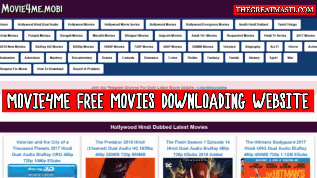 Movie4me - New Bollywood, Hollywood & South Movies Free Download