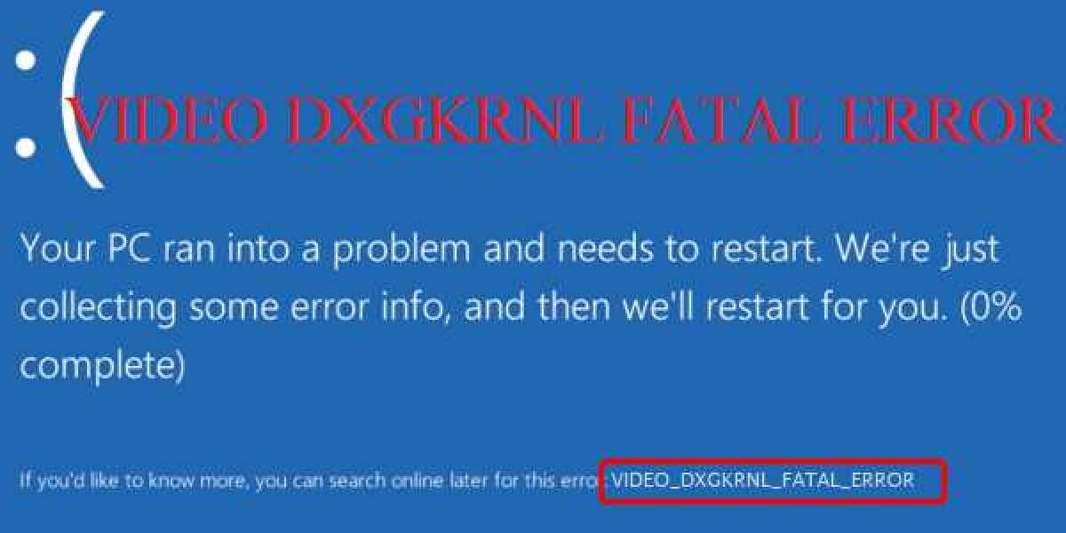 How to Fix Video Dxgkrnl Fatal Error in Windows 10?