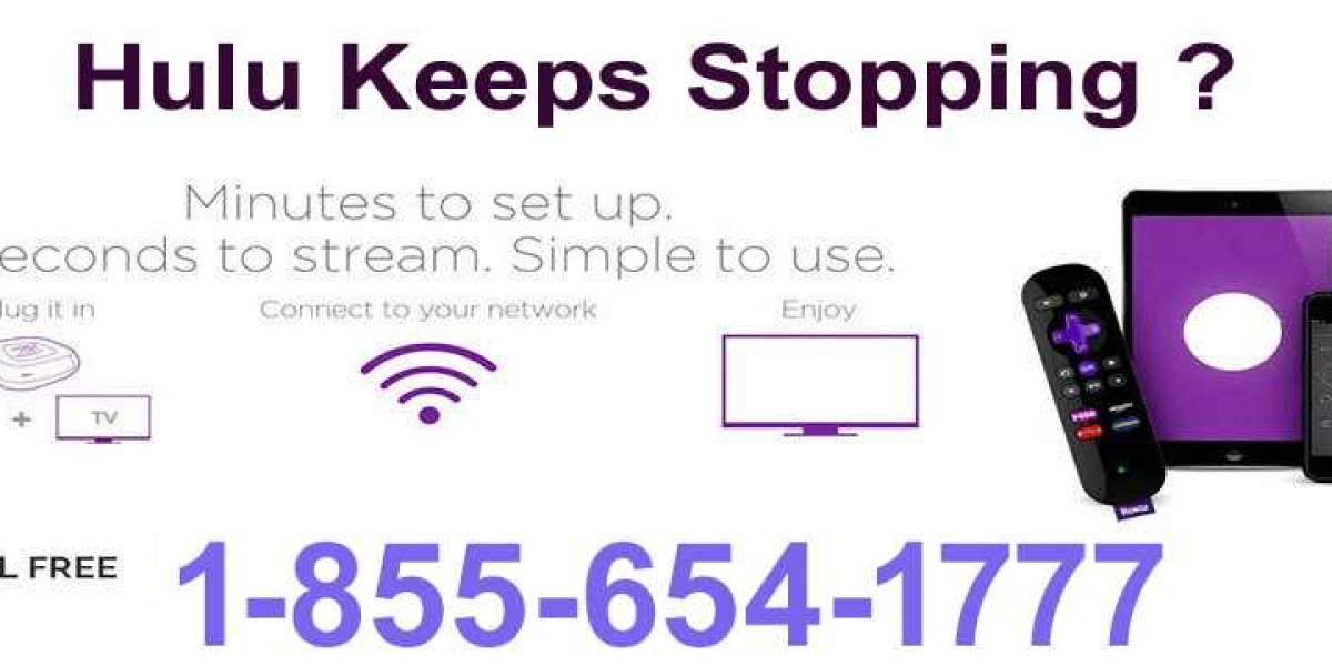 Hulu Keeps Stopping ? Call Now 1-855-654-1777