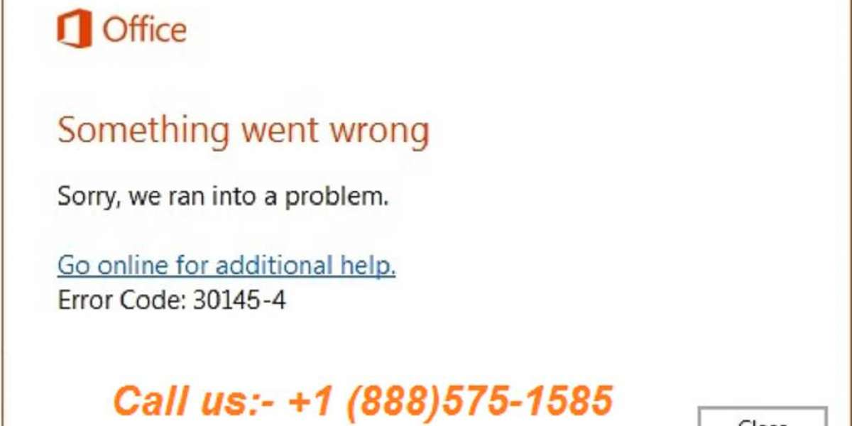 Simple Steps for Troubleshooting the Office Error Code 30145