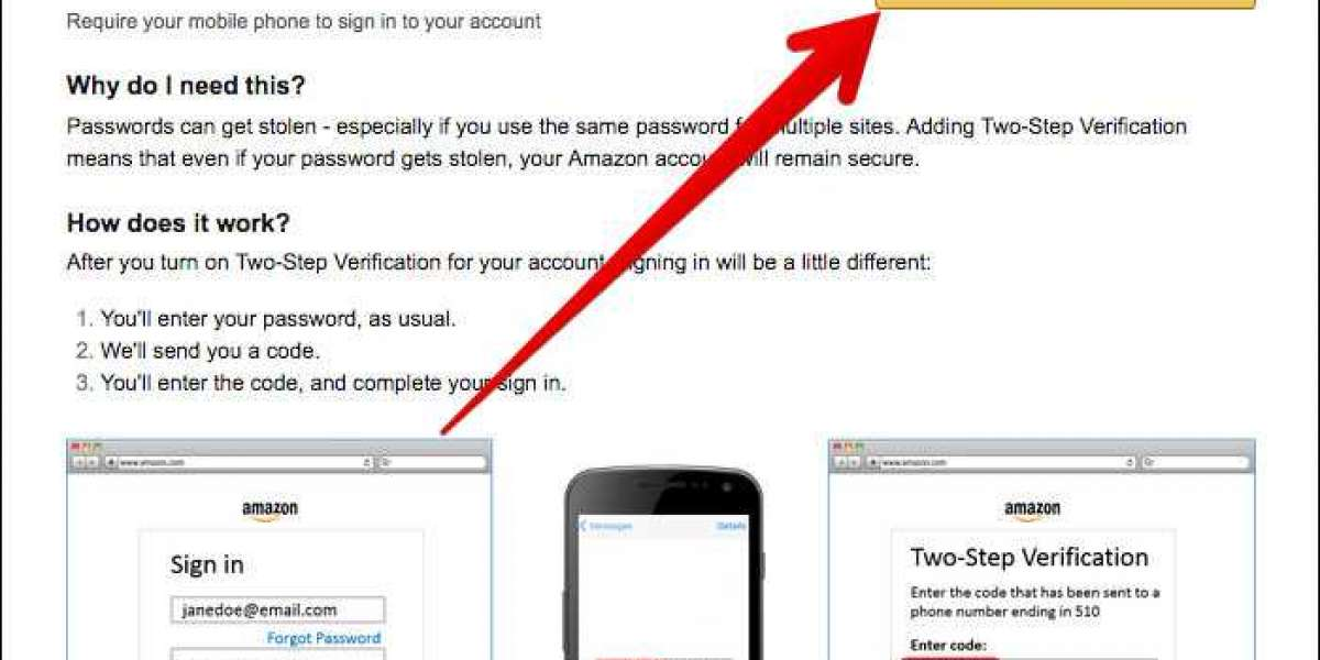 How to Set up Two-Factor Authentication for Amazon Account