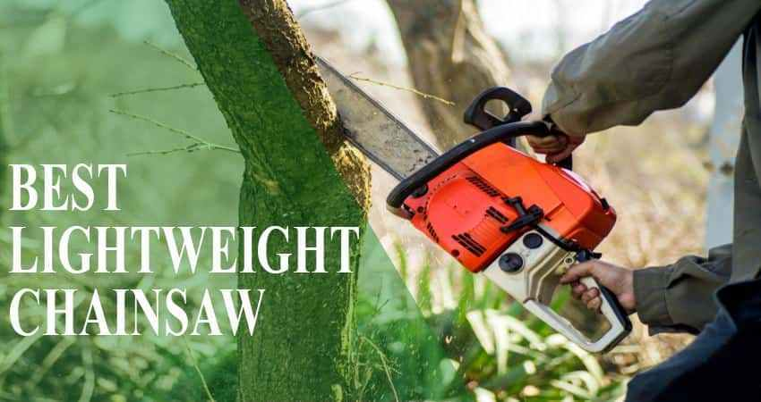 Best Lightweight Chainsaw - Review & Buying Guide