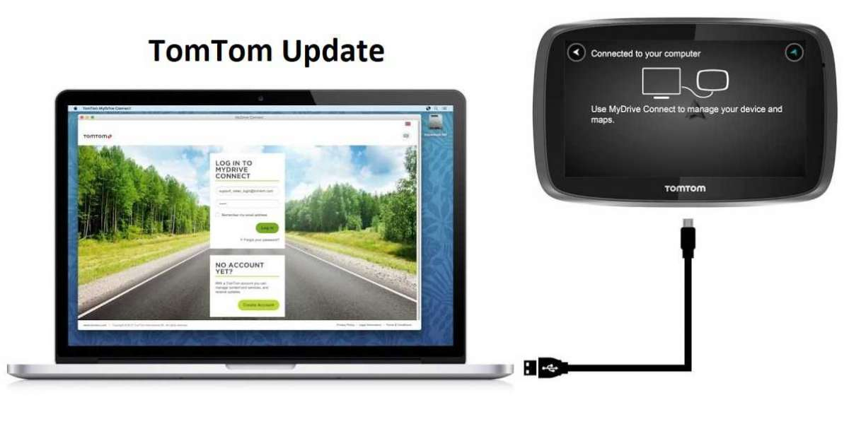 How do you update a TomTom?