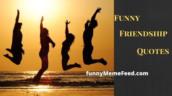 Funny quotes about friends in our life and our friendship