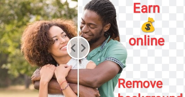 Remove background from images and earn money online from home