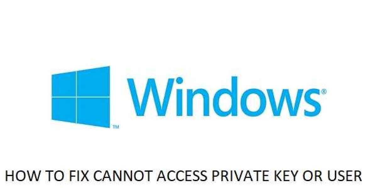 HOW TO FIX CANNOT ACCESS PRIVATE KEY OR USER PROFILE