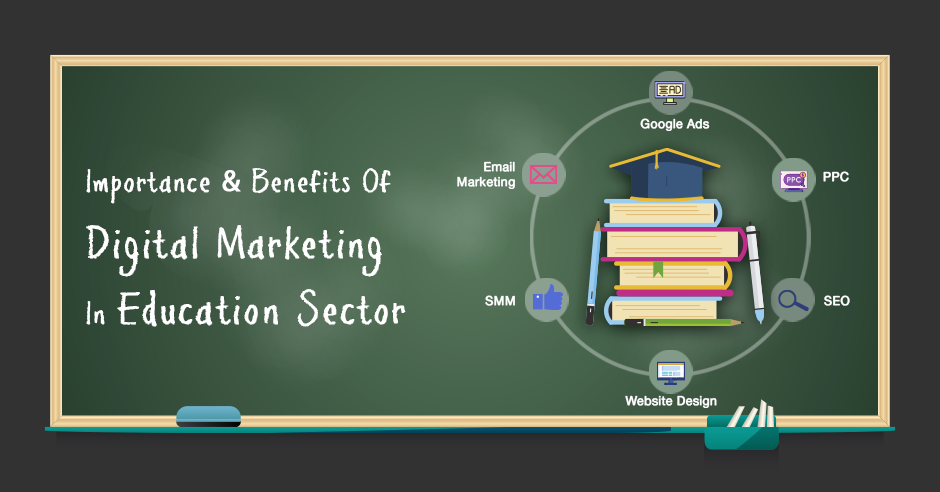 Importance & Benefits Of Digital Marketing In Education Sector - GeeksChip