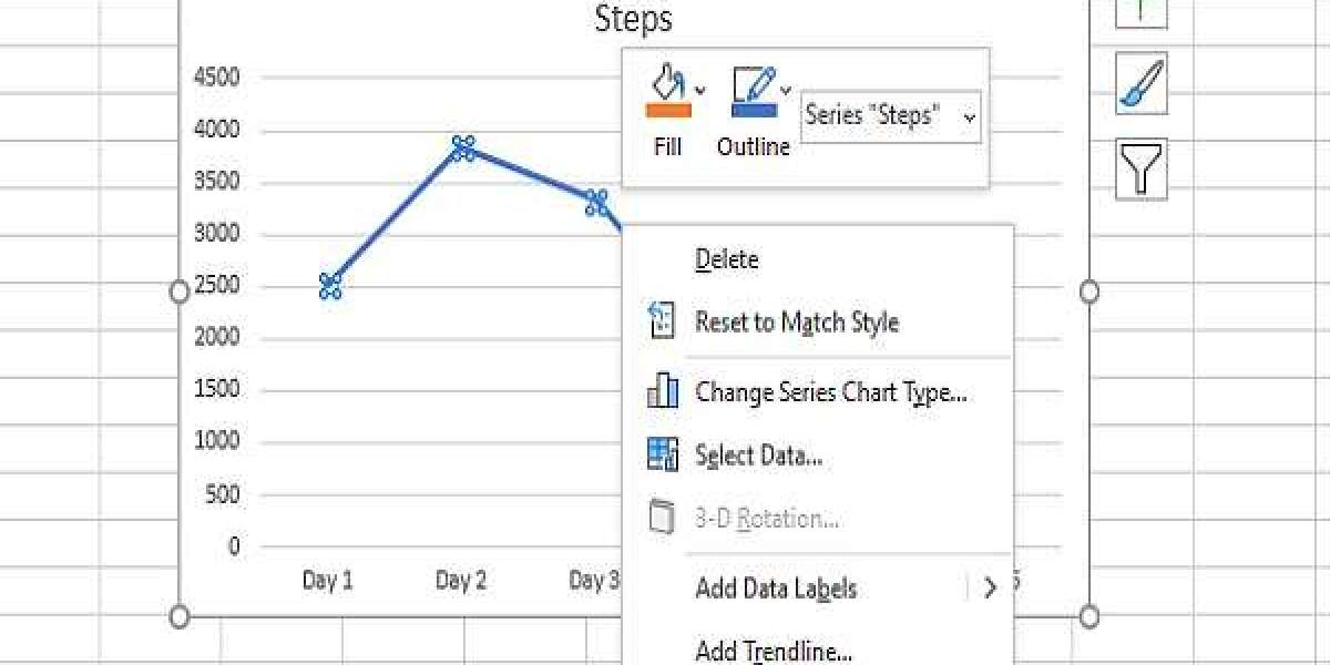 HOW TO MAKE A CURVED LINE GRAPH IN EXCEL & GOOGLE SHEETS