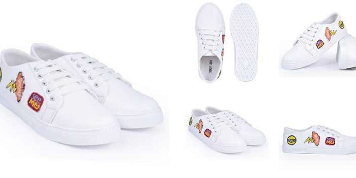 The Omni-styling of white sneakers