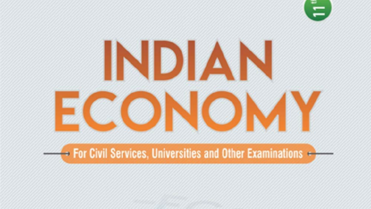 Indian Economy for Civil Services book for examination