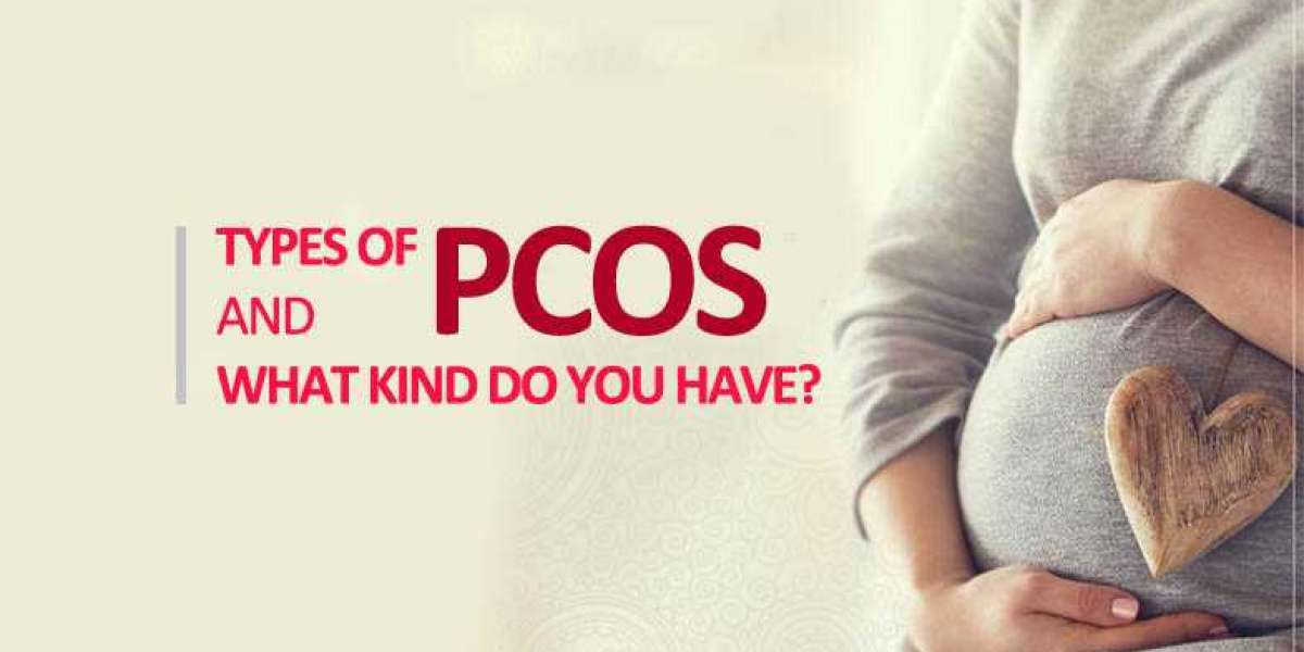 What are the different types of PCOS and what are its causes?