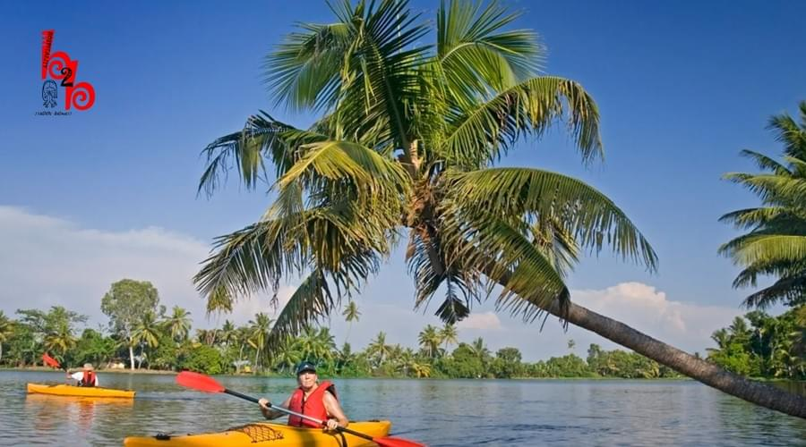 Claim your Wave : Go Kayaking in Kerala