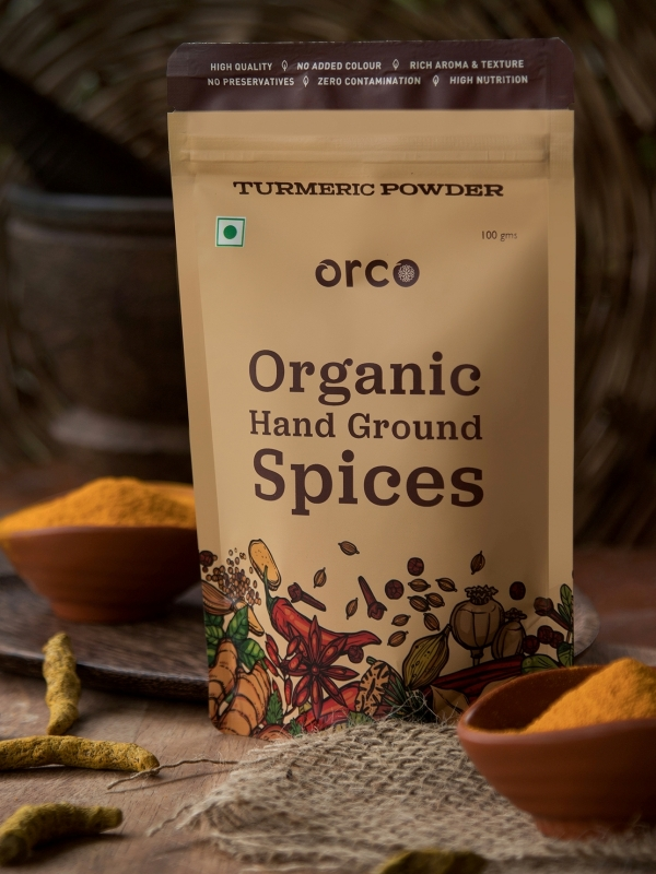 Buy Organic Turmeric Powder Online from ORCO
