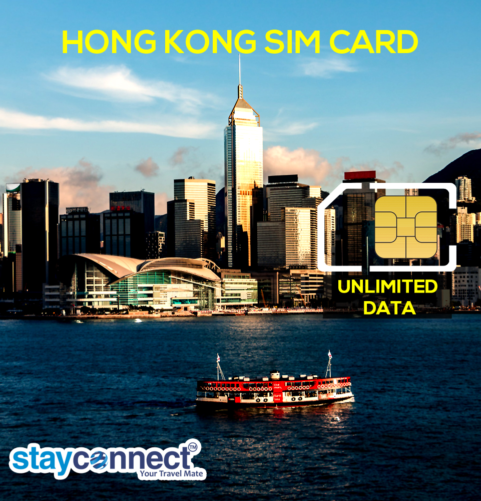 HONG KONG UNLIMITED DATA FOR 7 DAYS  