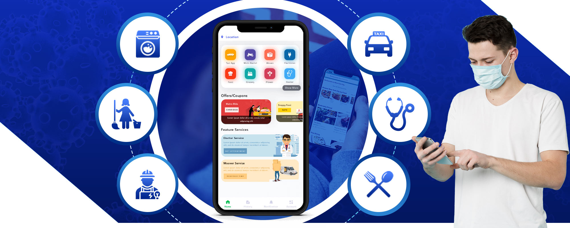 Coronavirus Pandemic: Tackle the situation wisely with On-demand Apps