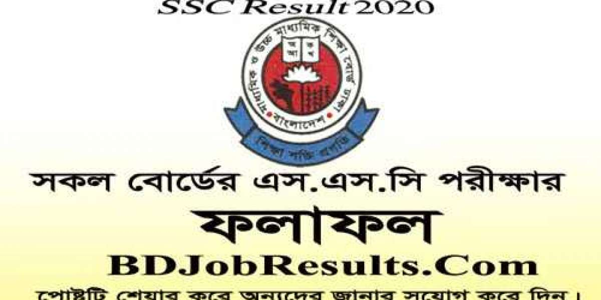 SSC Result 2020 Education Board Results