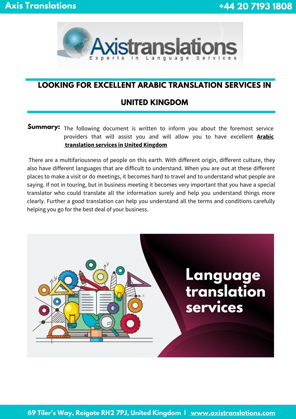 PPT - Find Reliable Arabic Translation Services At Reasonable Prices PowerPoint Presentation - ID:9898859