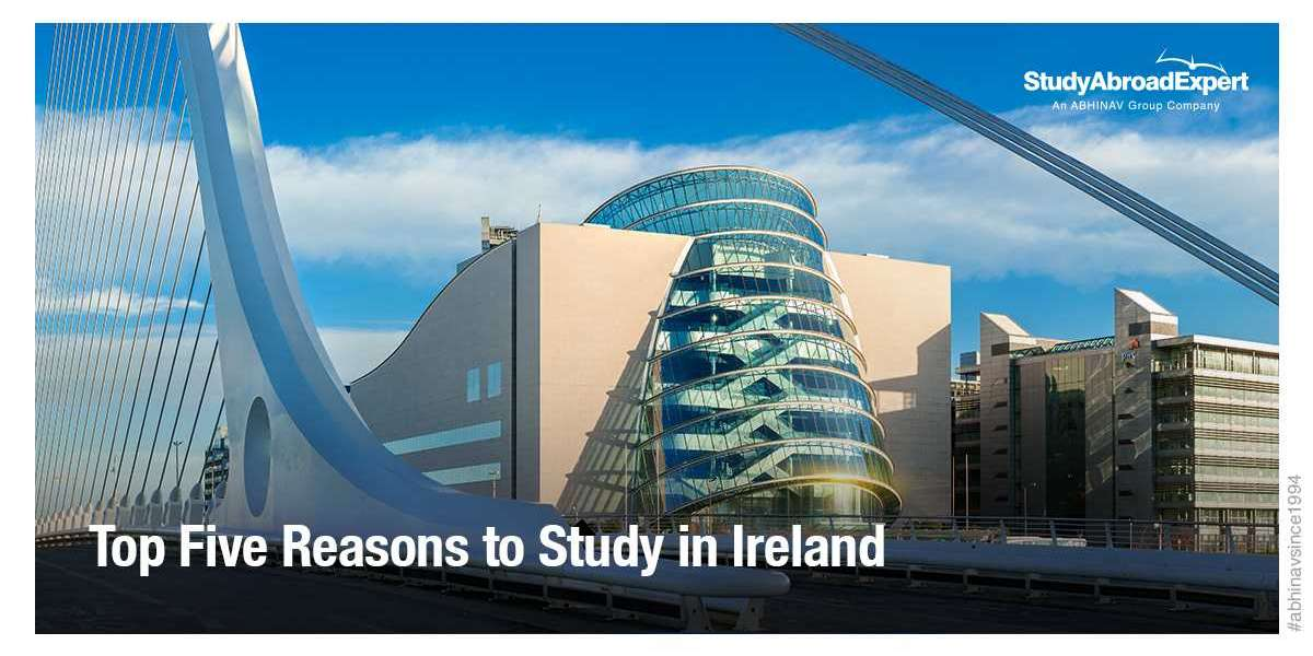 Top Five Reasons to Study in Ireland