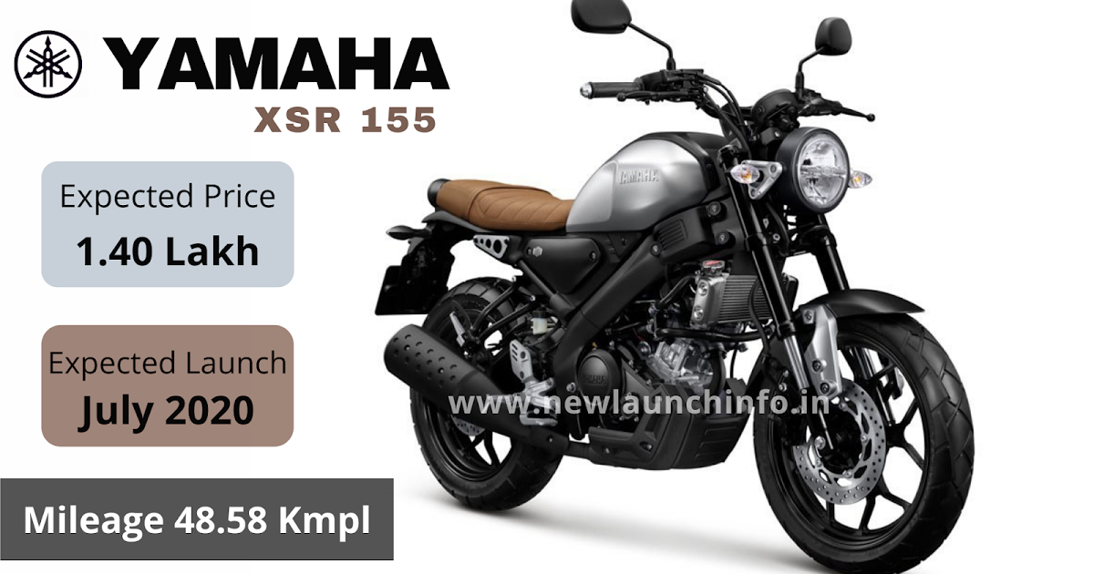 Upcoming Bike Yamaha XSR 155. - Explore all the New Launch Information of Products.