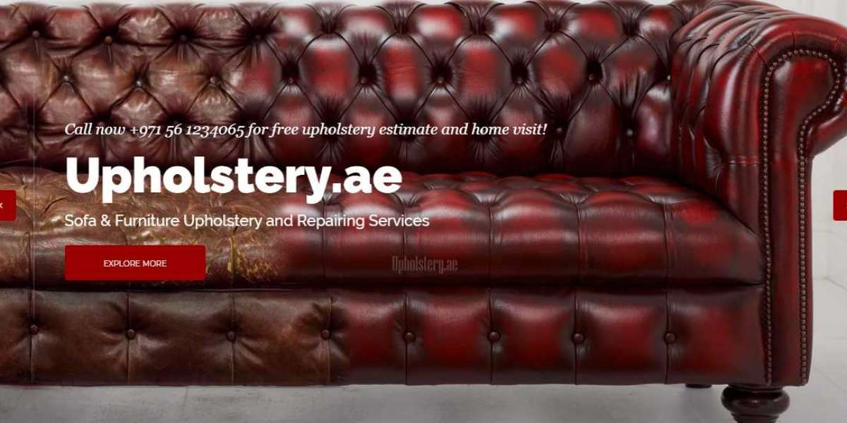 Sofa cover and upholstery in Dubai