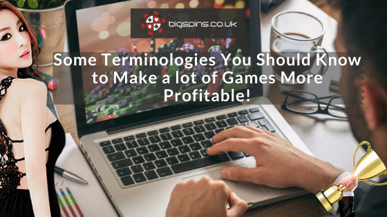 Some Terminologies You Should Know to Make a lot of Games More Profitable! – Play Online Bingo & Slots Games