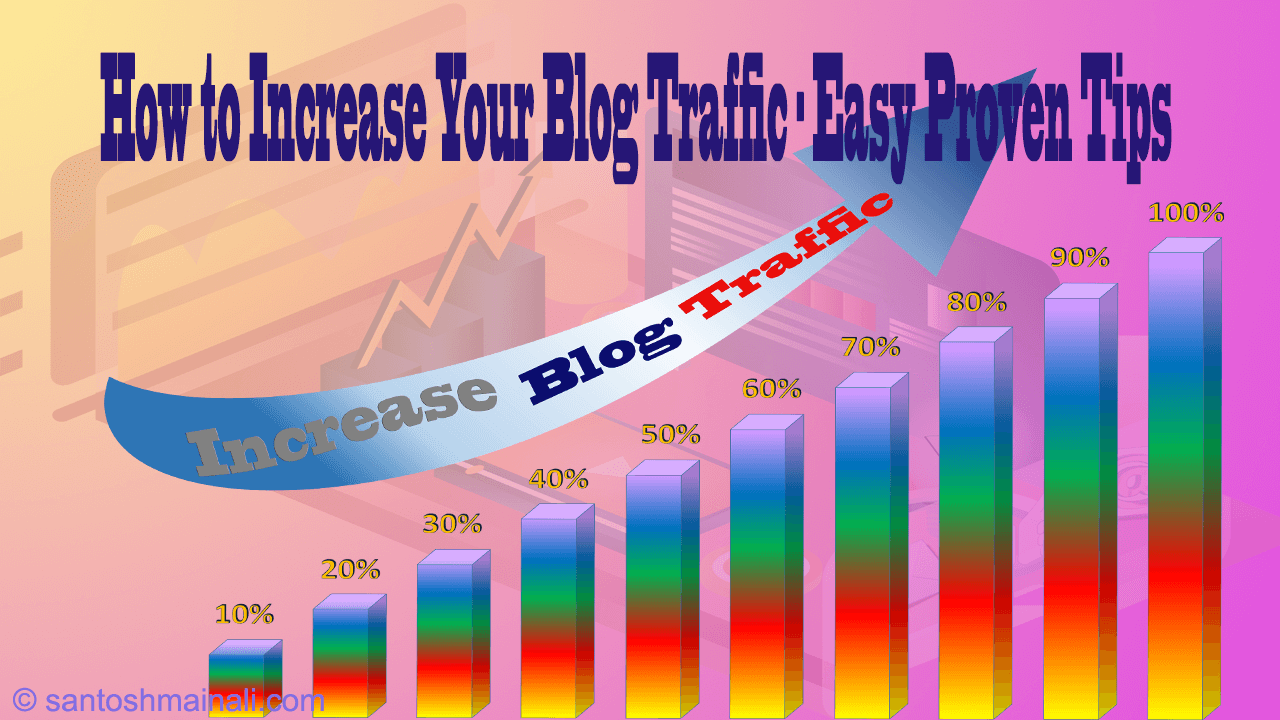 How to Increase Your Blog Traffic - Easy Proven Tips ~ Santosh Mainali | Information is Our Goals