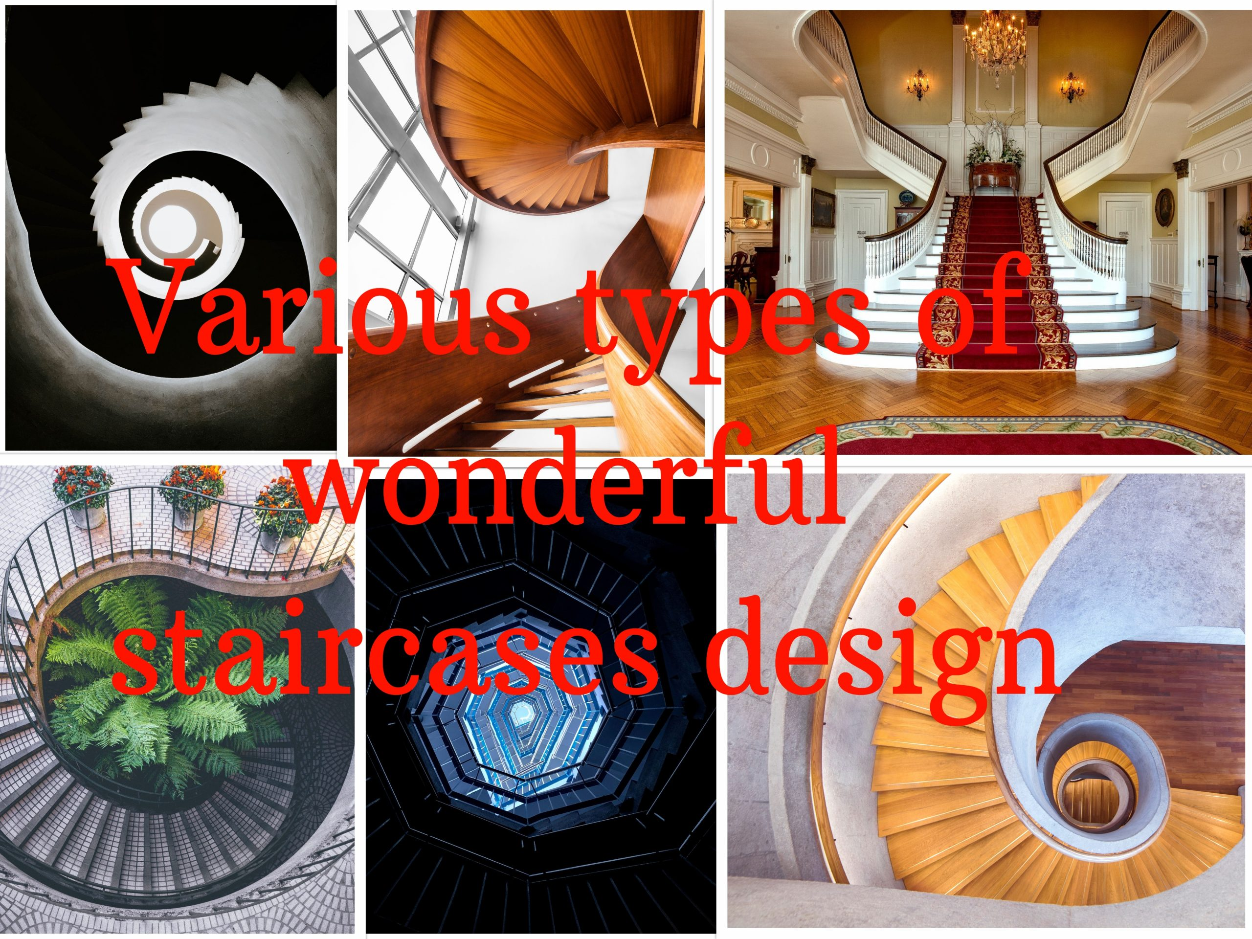 Various types of wonderful staircases design | Civilengi