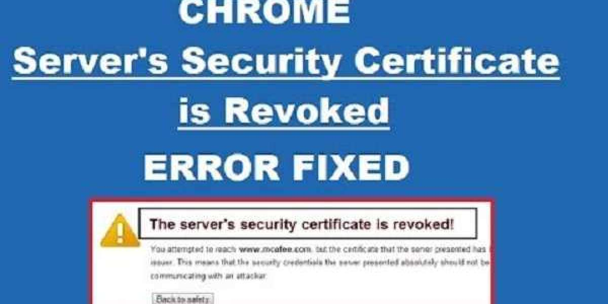 How to Fix Server's Certificate has been Revoked on Chrome?