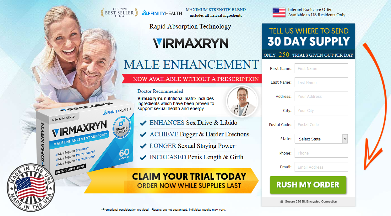 Virmaxryn - Male Enhancement Support & Boost Size - Special Offer!