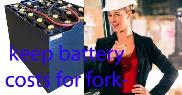 Introducing a way to keep battery costs for forklifts cheap!