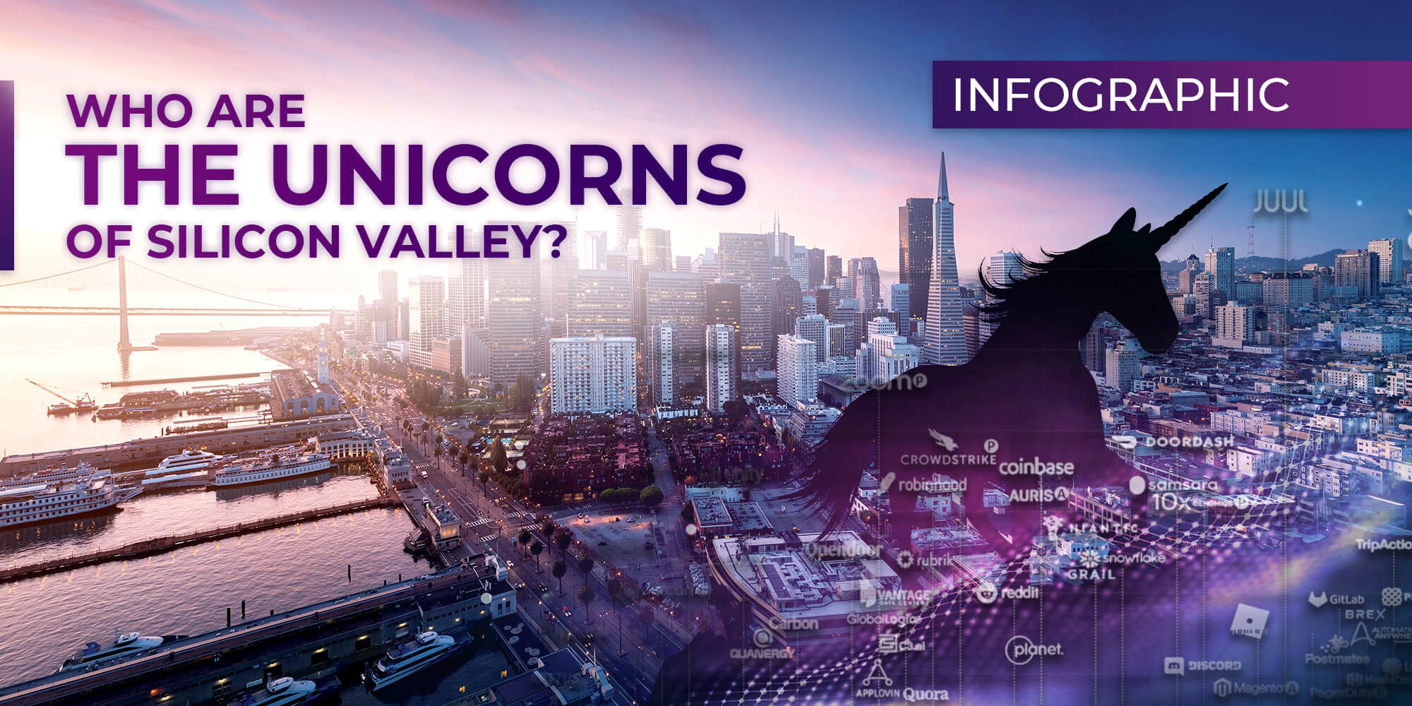Infographic: Who are the Unicorns of Silicon Valley?