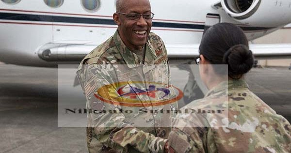 For the first time, a black man is the head of the US Air Force - Nilkanto SutraDhar