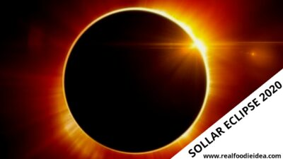 Solar Eclipse 2020:The Solar Eclipse Will Occur... Real Foodie Idea